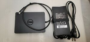 Dell Genuine Docking Station WD15 USB Type-C K17A  - with 130W AC Adapter, Used.