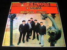 LP los WIKINGOS + VICENT SPAIN VINYL 1989 historia de la musica pop nº79 VINILO