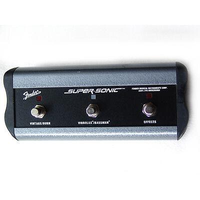 Original Fender SUPER-SONIC 3 button footswitch