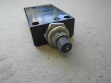 1 Ea Nos Eta Germany 5 Amp Circuit Breaker Pn 45 700 P105amp