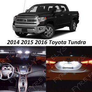 18 x Ultra White LED interior Lights Kit for 2016 2017 2018 2019 Toyota Tundra