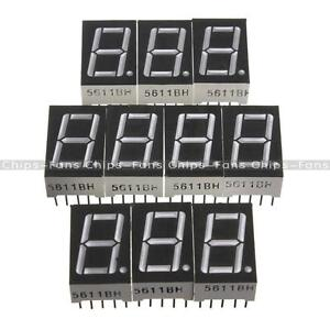 7-segment-0-56-1-8-0-36-0-5inch-1-3-4-Digit-Common-cathode-Anode-Led-Display