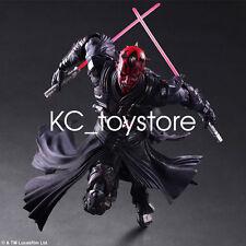 "New Star Wars Variant Play Arts Kai Darth Maul Action Figure Toys 10"" PVC Statue"
