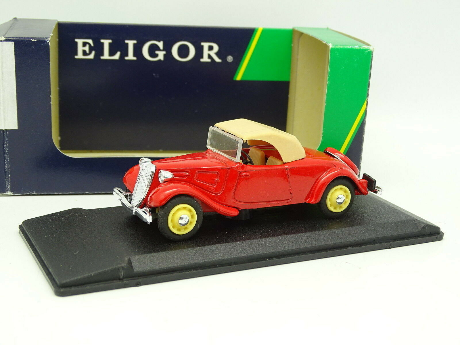 Eligor 1 43 - Citroen Traction Cabriolet Red