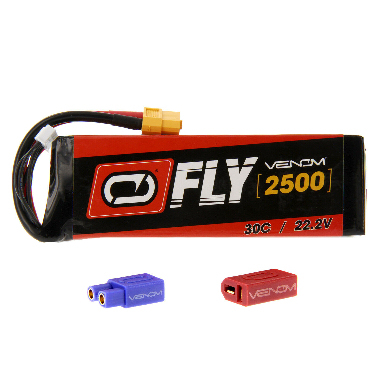 Mikado Logo 400 30C 6S 2500mAh 22.2V batería LiPo con UNI 2.0 Enchufe por Venom