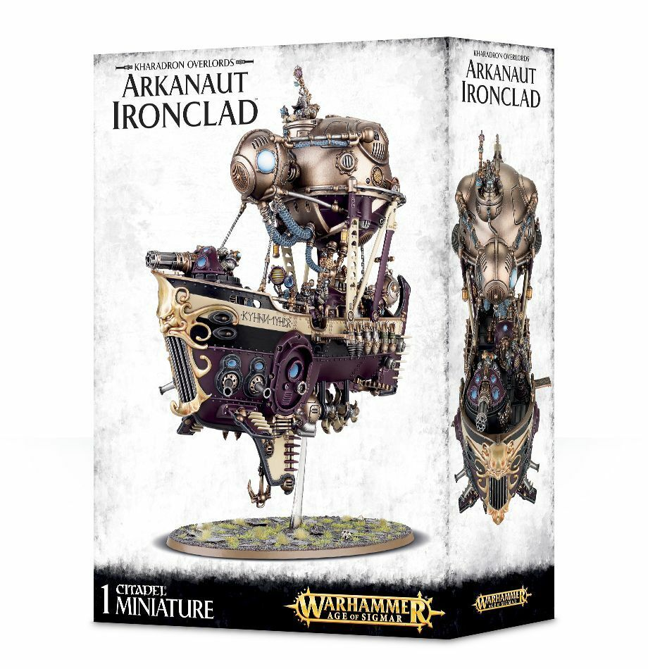 Kharadron Overlords Arkanaut Ironclad Warhammer Age of Sigmar 20% off UK rrp