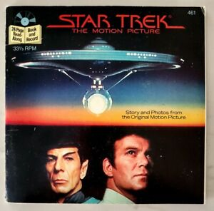 Star-Trek-Star-Trek-III-Search-For-Spock-24-Page-Read-Along-Paper-Back-Records