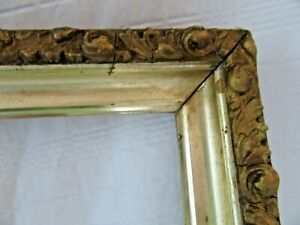 ANTIQUE-FITS-12-X20-GOLD-VICTORIAN-WOOD-PICTURE-FRAME-FINE-ART-ORNATE-COUNTRY