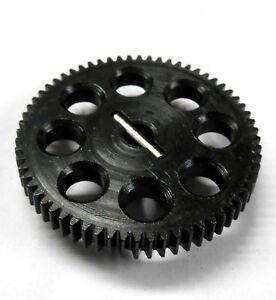 0.6 Module 0.6m 64t 64 Dents Dent Métal Gear Ep 1/10 Noir 9mm Large 11184