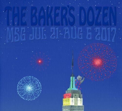 Phish The Baker/'s Dozen Phan Art Poster Twilight Variant by SBMathieu