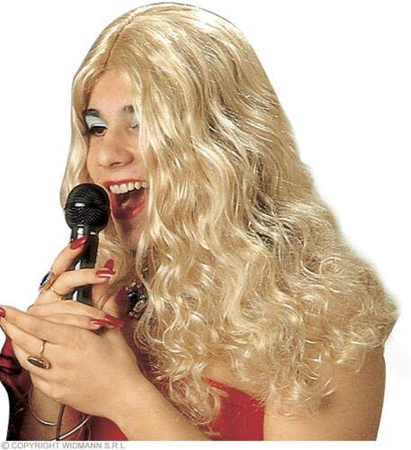 Noir, Blond, Châtain NEUF Widmann Perruque Diva Ondulé