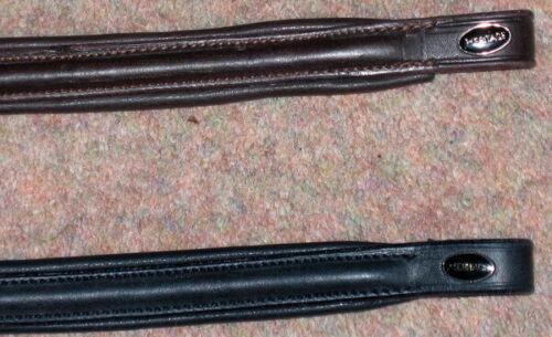 SALE English HERITAGE Comfort Padded Leather Everyday Raised Browband P-C-F-X