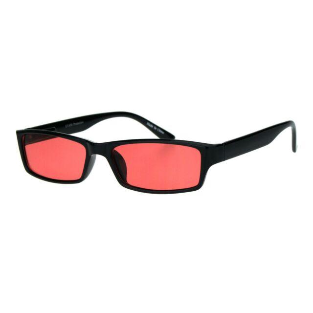 UV 400 Protection Mens Fashion Sunglasses Rectangular Frame Spring Hinge