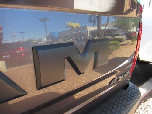 Dodge Ram Rebel Flat Black Tailgate Ram M Letter Nameplate NEW OEM MOPAR