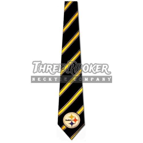 Steelers Necktie Mens Officially Licensed Pittsburgh Steelers Ties NWT FREE SHIP