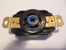 Hubbell HBL2510 -- 20A 120/240V 3 ph 5 wire Twist-Lock Receptacle, L21-20R