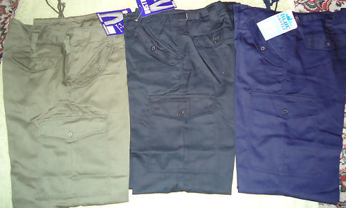 MENS ARMY CARGO STRONG  COMBAT TOUGH WORK TROUSER WAIST 50 - 62 new full fit big