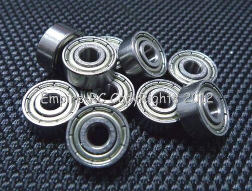 10 Stück 1.3cm X 2.9cm X 0.8cm R8zz Doppel Metall Geschirmt Kugellager R8z