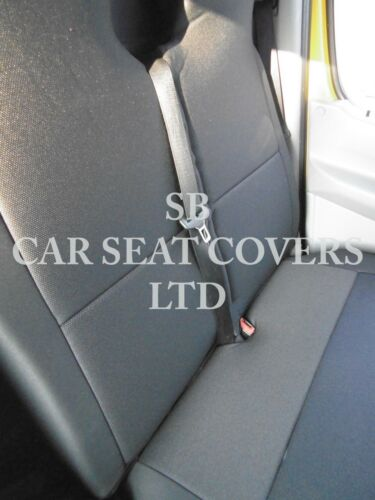 EMPORIUM BLACK SINGLE /& DOUBLE TO FIT A MERCEDES VITO VAN 2006 SEAT COVERS