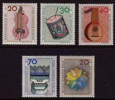 Germany Berlin 1973 Humanitarian Relief + Christmas SG B443/B447 MNH
