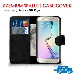 Flip-Wallet-Leather-Case-Cover-For-Samsung-Galaxy-S6EDGE-B71