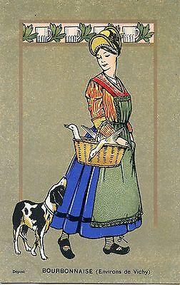 CARTE POSTALE / POST CARD / ILLUSTRATEUR / BOURBONNAISES ENVIRONS DE VICHY   eBay