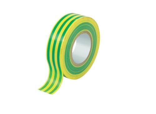 Jaune /& vert électrique pvc isolation//ruban isolant 19mmx20m flamme retardan