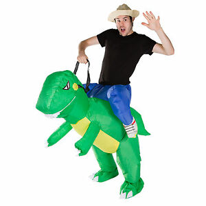 image is loading adult inflatable dinosaur t rex fancy dress costume