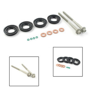 2x-Injector-Clamp-Bolts-Fuel-Injector-Seal-Washer-For-FORD-TRANSIT-MK7-2-2-2-4