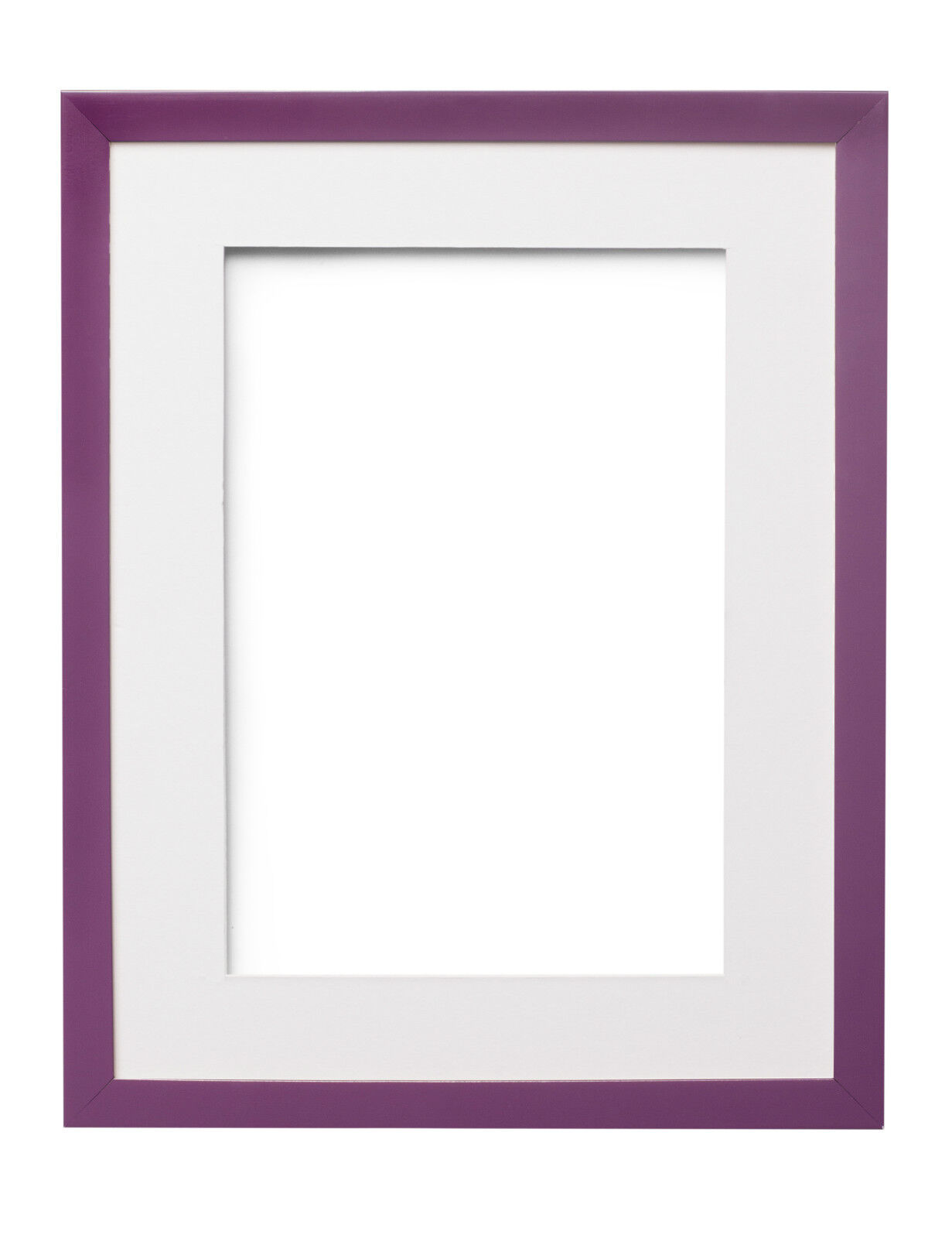 RAINBOW RANGE PICTURE FRAME PHOTO FRAME POSTER FRAME PURPLE WITH ...