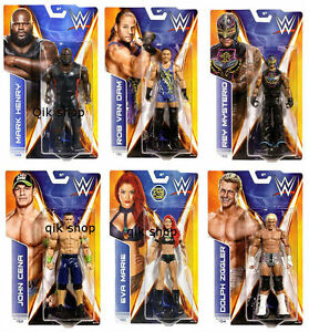 WWE basic figure series mysterio, henry, marie, van drm, cena, ziggler  </span>