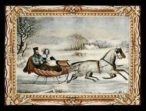 Victorian Horse Ride  Miniature Dollhouse  Picture