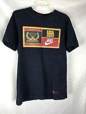 Vintage Nike Olympic Original Dream Team MCMXCII 1992 Basketball S T-Shirt