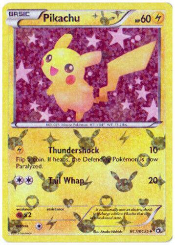 Uncommon Legendary Treasures RC7//RC25 Radiant Collection Pok 1 x SP Pikachu