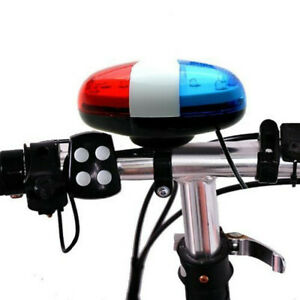 6-LED-4-Sounds-Horn-Bell-Ring-Police-Car-Light-Trumpet-For-Bike-Bicycle