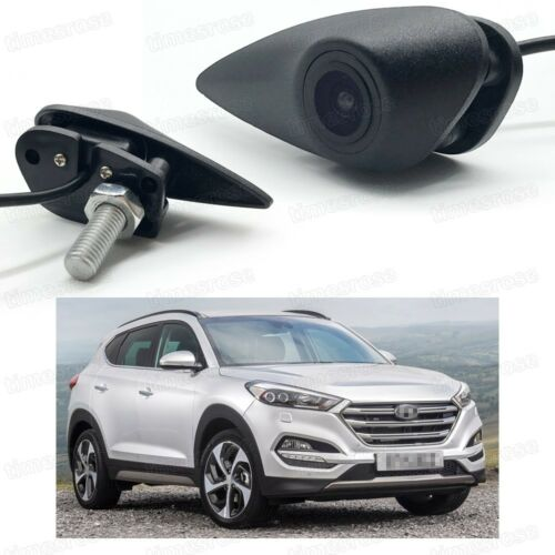 Full HD CCD Car Front View Camera Logo Embedded for Hyundai Tucson 2016-2017