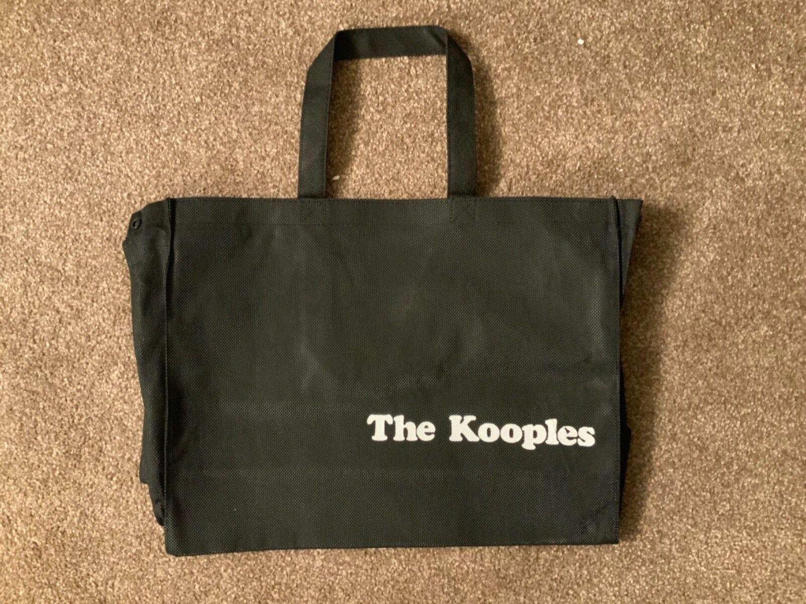 THE KOOPLES MEDIUM SIZE TOTE BAG SHOPPING BAG CANVAS BAG