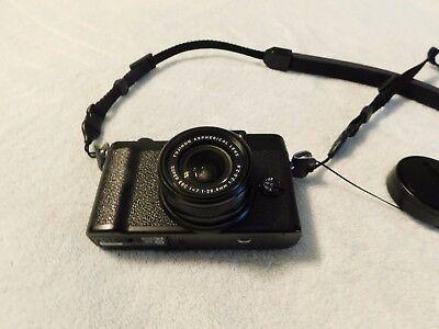 Fujifilm X Series X10 12.0MP Digital Camera - Black w accessories MINT w Box NR