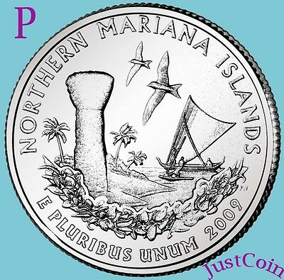 2009-P NOTHERN MARIANA ISLANDS QUARTER UNCIRCULATED FROM MINT * U.S. TERRITORIES