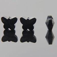 6pcs Swarovski  5x6x10mm Butterfly Crystal beads E alack