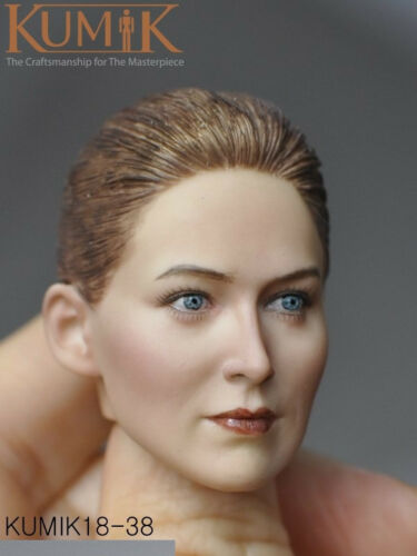New KUMIK 1//6 KM18-33//34//35//36//38//41//42//43//44//45 Female//Male Head Carving Toy
