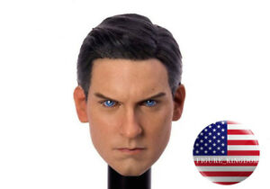 1-6-Tobey-Maguire-Spider-Man-Head-Sculpt-3-0-For-12-034-Hot-Toys-PHICEN-Male-Figure