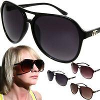 Womens DG Fashion Aviator Sunglasses Celebrity Oversized Designer Style Shades