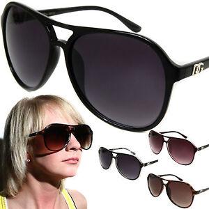 Womens-DG-Fashion-Aviator-Sunglasses-Celebrity-Oversized-Designer-Style-Shades