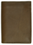 Brown-Men-039-s-Genuine-Leather-ID-Bifold-18-Card-Holder-Center-Flap thumbnail 5