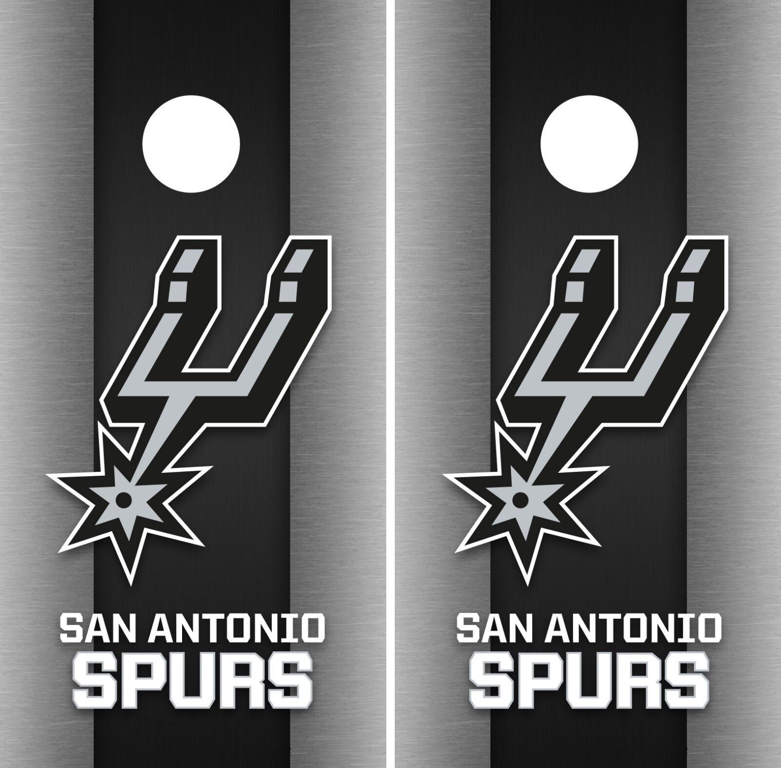 San Antonio Spurs Cornhole Wrap  NBA Game Skin Board Vinyl Decal Art Set CO712  top brands sell cheap