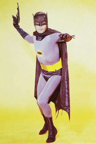 Batman Adam West full length in cape cult TV series 11x17 Mini Poster