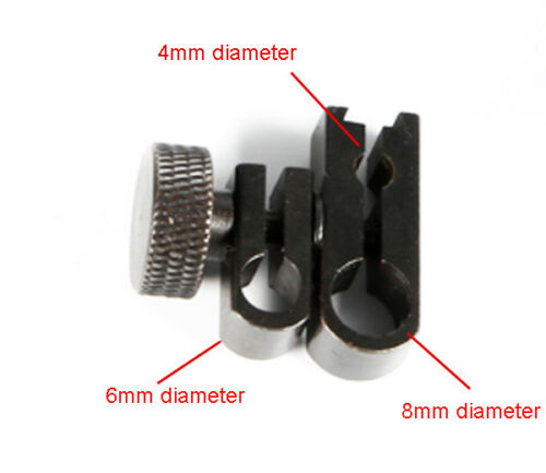 Sleeve Swivel Dovetail Clamp For Dial Test Indicator 8mm 6mm 4mm Dia Hole 900321
