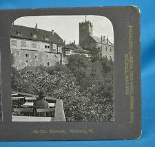 German NPG Stereoview No30 Eisenach Wartburg Germany