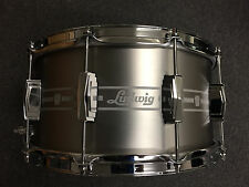 Ludwig Heirloom Series 7x14 Stainless Steel Standard Etched Snare Drum $458.00